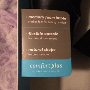 comfort plus by Predictions Shoes - Black heels